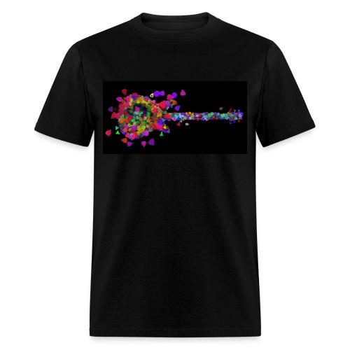 Exploding Picks on Black - Std Shirt - Men's T-Shirt