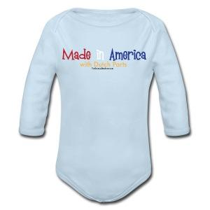 Dutch Parts - Long Sleeve Baby Bodysuit