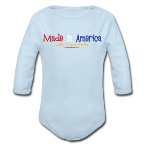 Dutch Parts - Long Sleeve Baby Bodysuit