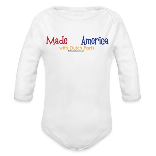 Dutch Parts - Organic Long Sleeve Baby Bodysuit