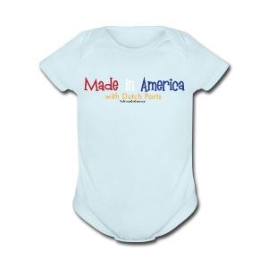 Dutch Parts - Short Sleeve Baby Bodysuit