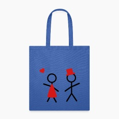 partner shirt him and her Bags & backpacks
