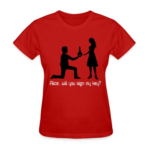 The Proposal  - Women's T-Shirt
