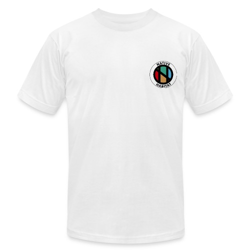 NATIVE Badge - Men's Fine Jersey T-Shirt