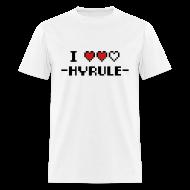 T-Shirts ~ Men's T-Shirt ~ I Love Hyrule