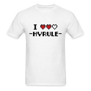 I Love Hyrule - Men's T-Shirt