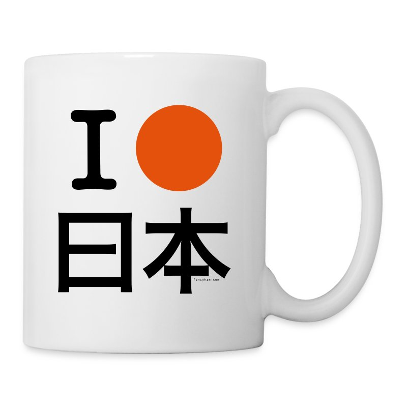 I [circle] Japan - Coffee/Tea Mug