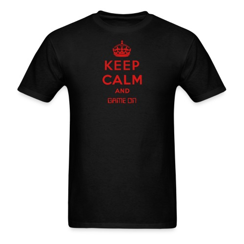 Keep Calm and Game On Men's Tee Reg. - Men's T-Shirt