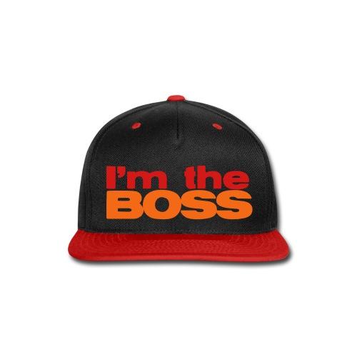 im the boss - Snap-back Baseball Cap