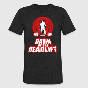 Dawn of the DeadLift 01 T-Shirts - Unisex Tri-Blend T-Shirt by American Apparel