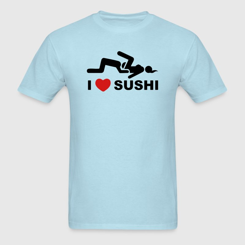 I LOVE SUSHI T-Shirts - Men's T-Shirt