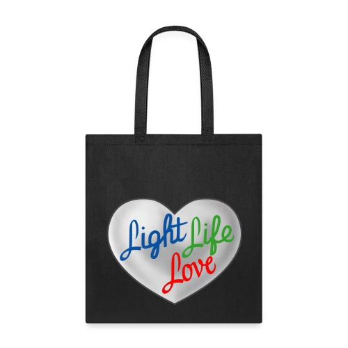 Hey Light Life Love! - Tote Bag