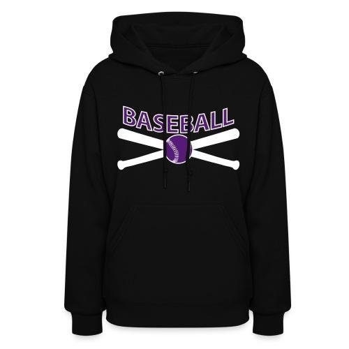 Baseball Hoodie - Women's Hoodie