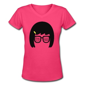 Women's Tina V-Neck - Women's V-Neck T-Shirt