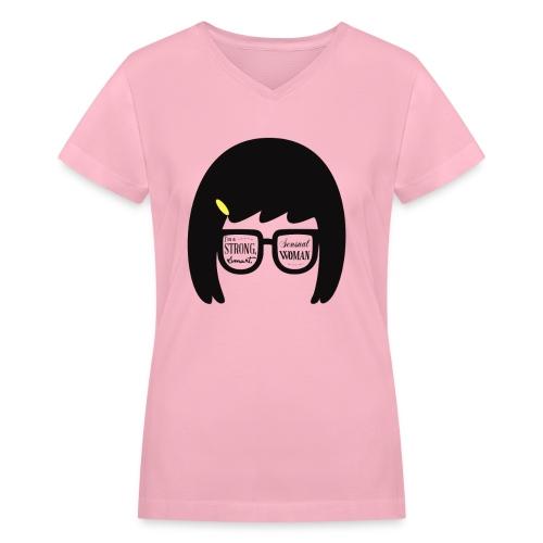 Women's Tina V-Neck - Women's V-Neck T-Shirt