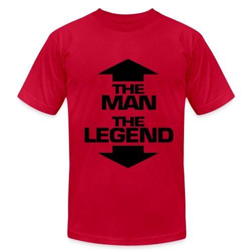 The Man, The Legend T-Shirt (Men) - Men's Fine Jersey T-Shirt