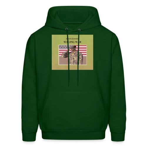 WAGING WAR men's hooded sweatshirt - Men's Hoodie