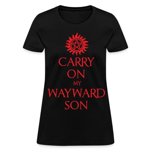 Carry On My Wayward Son-Women's - Women's T-Shirt