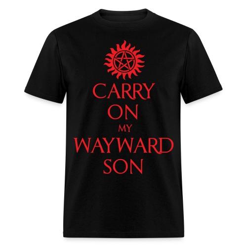 Carry On My Wayward Son-Men's - Men's T-Shirt