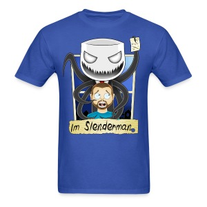 Chilled is Slenderman (Light T-Shirt) - Men's T-Shirt