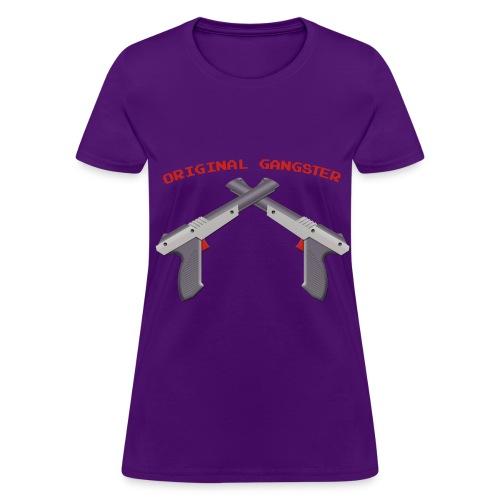 Original Gangster NES Light Gun - Women's T-Shirt