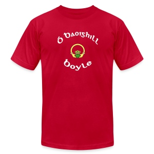 Boyle Family Claddagh Tee for Men - Men's T-Shirt by American Apparel