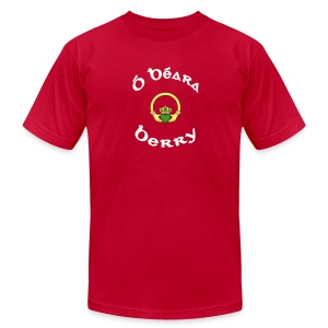 Berry Family Claddagh Tee for Men - Men's T-Shirt by American Apparel