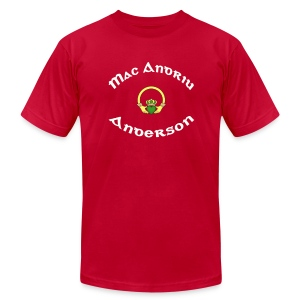Anderson Family Claddagh Tee for Men - Men's T-Shirt by American Apparel