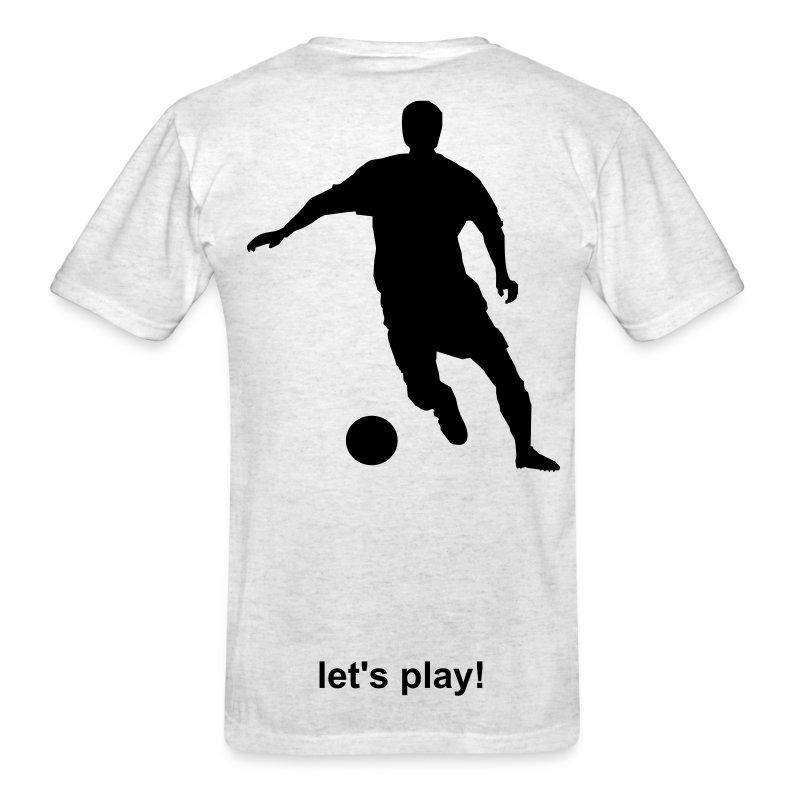 Let's Play! Men's Soccer - Men's T-Shirt