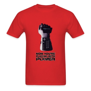 Power Glove (Mens) - Men's T-Shirt