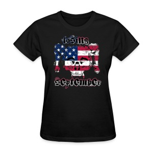 American Skull - Woman's T - Women's T-Shirt