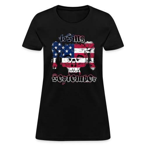 American Skull - Woman's T - Women's T-Shirt