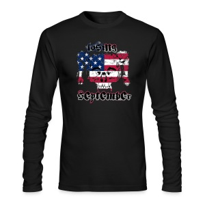 American Skull - Men's Long Sleeve - Men's Long Sleeve T-Shirt by Next Level