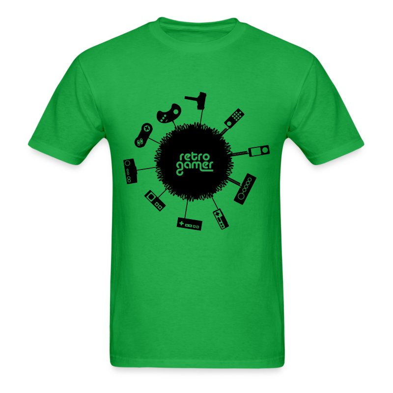 Retro Gamer (Mens) - Men's T-Shirt