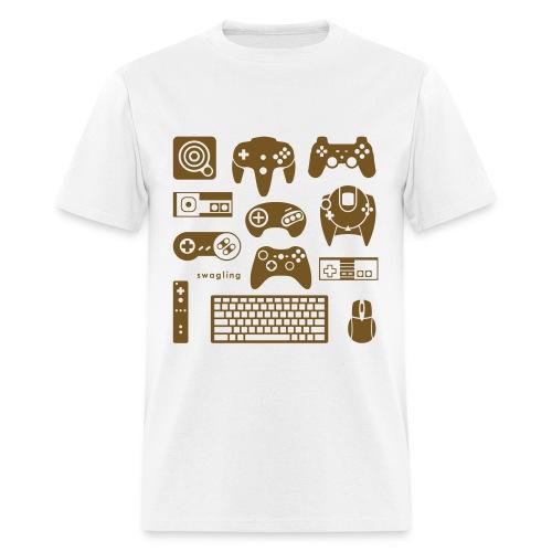 Button Masher *glitz - Men's T-Shirt