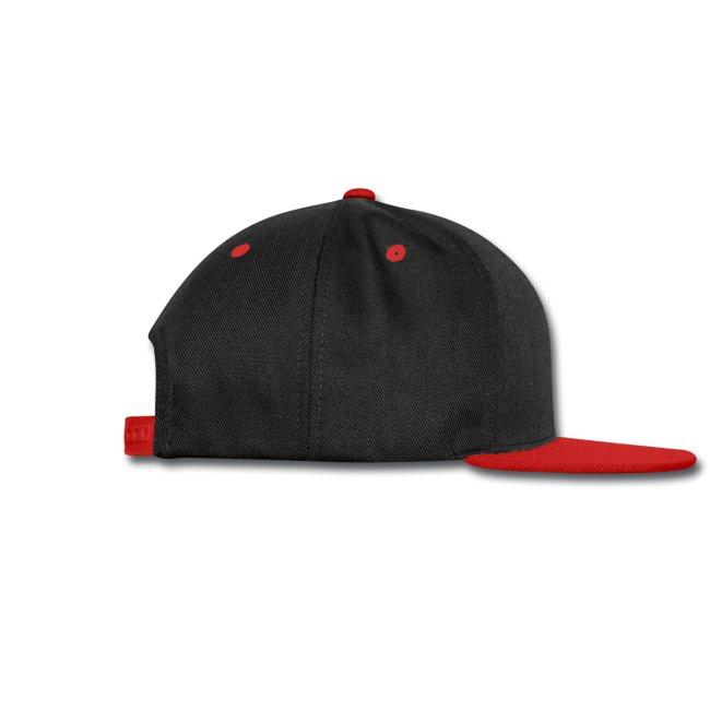 Pentagram ball cap - black/red/black