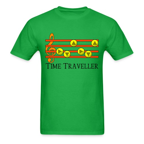 Legend of Zelda Time Traveller - Men's T-Shirt