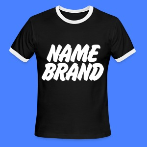 Name Brand T-Shirts - Men's Ringer T-Shirt