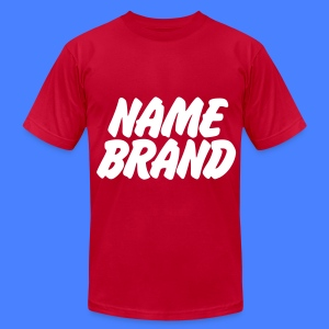 Name Brand T-Shirts - Men's T-Shirt by American Apparel