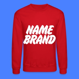 Name Brand Long Sleeve Shirts - Crewneck Sweatshirt