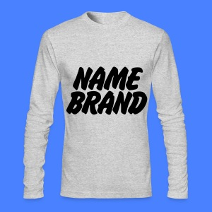 Name Brand Long Sleeve Shirts - Men's Long Sleeve T-Shirt by Next Level