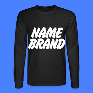 Name Brand Long Sleeve Shirts - Men's Long Sleeve T-Shirt