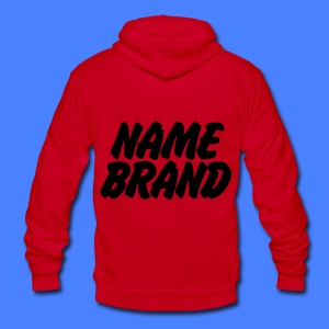 Name Brand Zip Hoodies & Jackets - Unisex Fleece Zip Hoodie by American Apparel