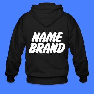 Name Brand Zip Hoodies & Jackets - Men's Zip Hoodie