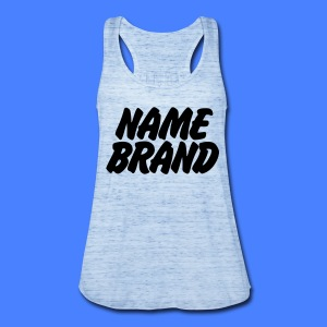 Name Brand Tanks - Women's Flowy Tank Top by Bella