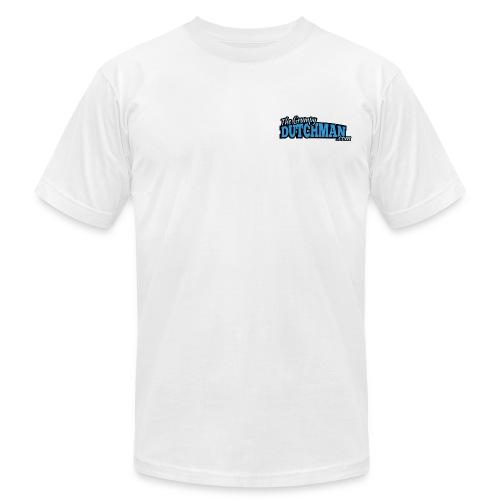 Grumpy Logo - Back (with dark lines for lighter shirts) - Men's Jersey T-Shirt
