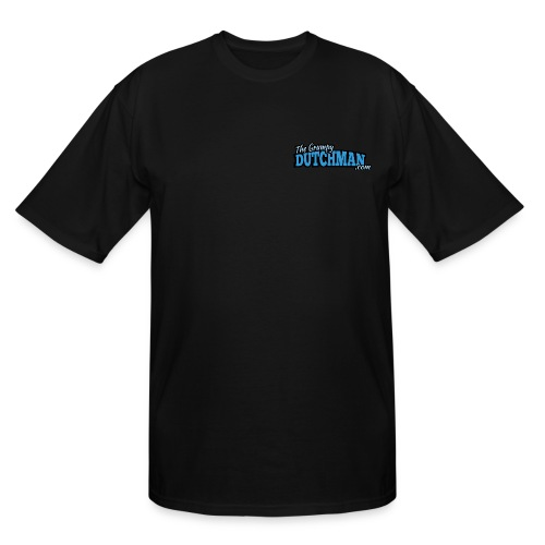 Grumpy Logo - Back (with dark lines for lighter shirts) - Men's Tall T-Shirt