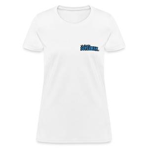 Grumpy Logo - Back (with dark lines for lighter shirts) - Women's T-Shirt