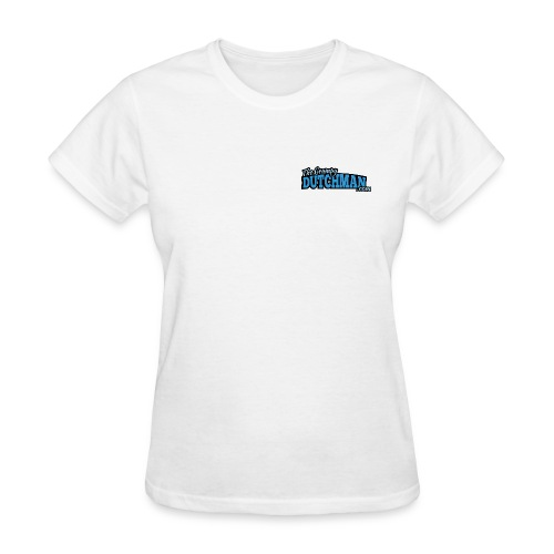 Grumpy Logo - Back (with dark lines for lighter shirts) - Women's T-Shirt