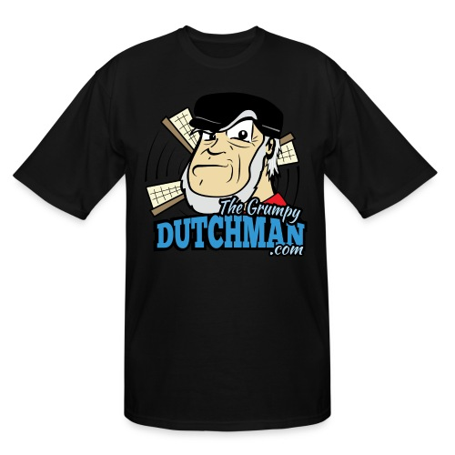 Grumpy Logo - Front (with dark lines for lighter shirts) - Men's Tall T-Shirt